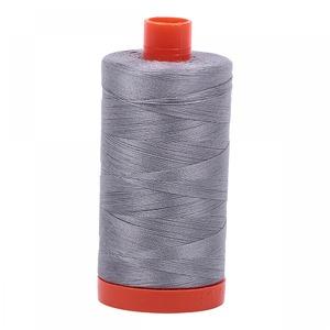 Aurifil MK50SC6-2605 Grey Cotton Mako Thread 50wt 1422 Yard Spool