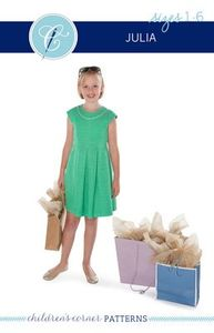 Children's Corner CC292S CC292L Julia Sewing Pattern Size 18m-6 and 7-14