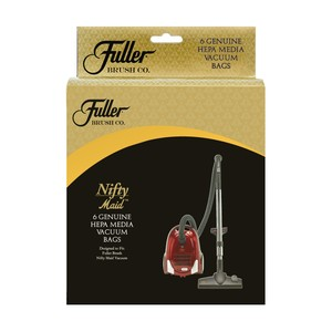 Fuller Brush FNH-6 6-Pack Hepa Bags for Nifty and Tiny Maid vacuums
