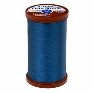 95551: Coats & Clark Upholstery S964-4550 Solider Blue 15wt Thread 150yds Box of 3