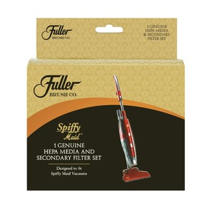 Fuller Brush SPFM-HEPA Spiffy Maid HEPA Media and Foam Filter Set