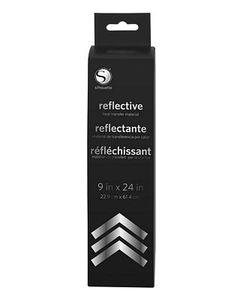 Silhouette HEAT9SMC-REFL Reflective Smooth Heat Transfer Vinyl Material 9x36'' Roll