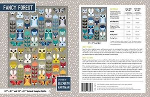 83295: Elizabeth Hartman EH023 Fancy Forest Quilting Pattern