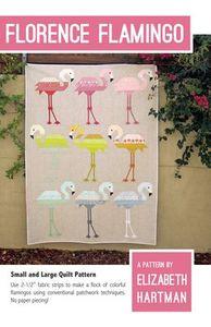 Elizabeth Hartman EH031 Florence Flamingo Quilting Pattern