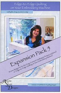 83315: Amelie Scott Designs ASD213 Edge to Edge Quilting Expansion Pack 5