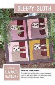 Elizabeth Hartman, EH033, Sleepy Sloth, Sewing Pattern
