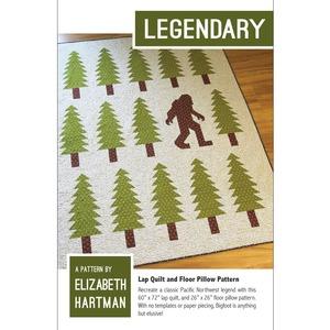 83364: Elizabeth Hartman EH025 Legendary Quilting Pattern