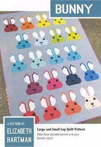Elizabeth Hartman EH021 Bunny Quilting Pattern