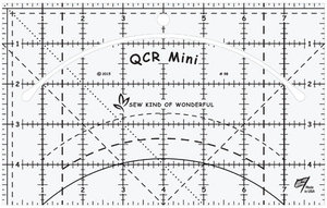 83373: QCR Mini SKW98 Sew Kind of Wonderful Quick Curve Ruler 5in x 8in