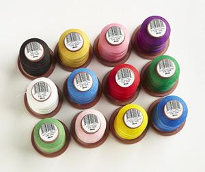 DIME, Vintage Chic, 12 Spool, 15wt, Thread Kit, Choose Your Colors