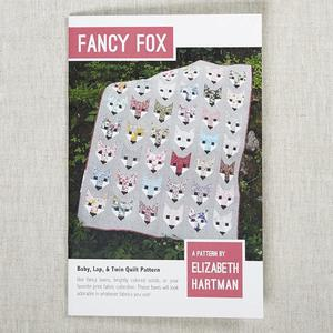 Elizabeth Hartman, EH009, Fancy Fox, Quilting Pattern