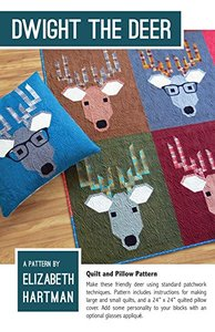 Elizabeth Hartman, EH029, Dwight the Deer, Quilting Pattern