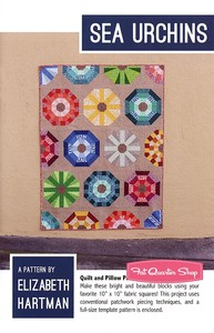 Elizabeth Hartman EH035 Sea Urchins Quilting Pattern