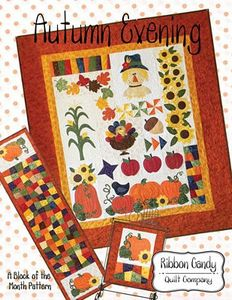 Ribbon Candy Quilt Company ,RCQC549 ,Autumn Evening, Pattern