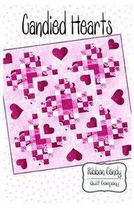 Ribbon Candy Quilt Company, RCQC561, Candied Hearts, Pattern