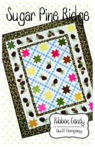Ribbon Candy Quilt Company, RCQC583 ,Sugar Pine, Ridge, Pattern