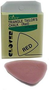 Clover CL432RA Triangle Chalk Red