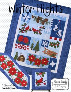 Ribbon Candy Quilt Company, RCQC559, Winter Nights, Pattern