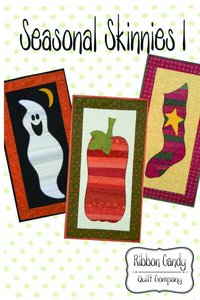 Ribbon Candy Quilt Company, RCQC507, Seasonal Skinnies 1, Pattern