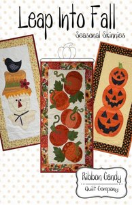 Ribbon Candy Quilt Company, RCQC545, Leap, into Fall, Pattern