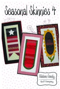 Ribbon Candy Quilt Company, RCQC510, Seasonal Skinnies 4, Pattern