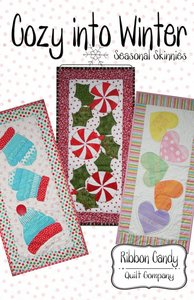 Ribbon Candy Quilt Company,, RCQC546, Cozy into Winter, Pattern