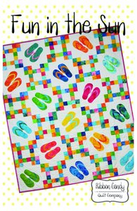 Ribbon Candy Quilt Company RCQC590 Fun in the Sun Pattern