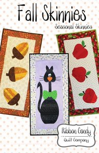 Ribbon Candy Quilt Company, RCQC536, Fall Skinnies, Pattern