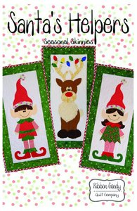 Ribbon Candy Quilt Company, RCQC585, Santa's Helpers, Pattern
