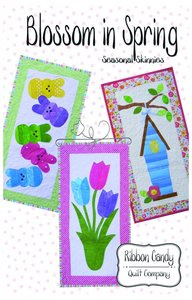 Ribbon Candy Quilt Company RCQC569 Blossom in Spring Seasonal Skinnies Pattern