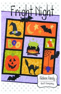 Ribbon Candy Quilt Company RCQC502 Fright Night Pattern