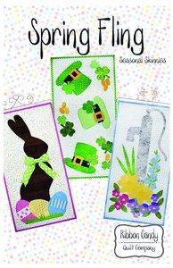 Ribbon Candy Quilt Company RCQC606 Spring Fling Pattern