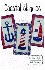 Ribbon Candy Quilt Company RCQC519 Coastal Skinnies Pattern