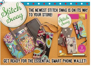 83966: DIME Stitch Swag: Essential Smart Phone Wallet Embroidery Designs CD