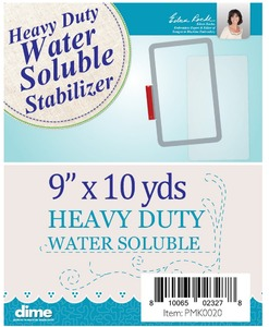 DIME PMK0020 Patch Maker Heavy Duty Water Soluble Stabilizer 9 Inch x 10 Yards