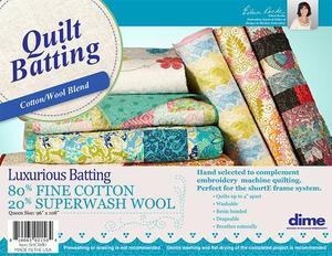 59583: DIME SHCWB1 shortE Quilt Frame Cotton Wool Batting