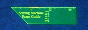 84121: Quilter's Paradise CR20229 CutRite Sewing Machine Seam Guide