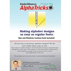 Embrilliance AlphaTricks AT10 Alphabet Design Software for MAC/Windows