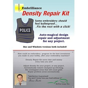 Embrilliance DRK10 Density Repair Kit Software MAC/Windows