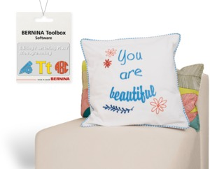 Bernina Tool Box Bundle: Editing, Monogramming, and Lettering Modules, Full Version, 100 Alphabets and 600 Designs to Choose From Bernina Cloud