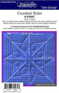 "80223: Sew Steady WA-CHS8PT Westalee 8.5"" Crosshair Square"