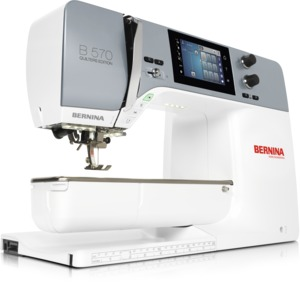 84413: Bernina B570QE Next Generation Sewing Quilting Machine, Optional Embroidery Module
