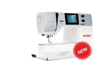 "Bernina B535 Next Generation, Optional Embroidery Module, Bernina B535 Next Generation Sewing Machine, 8.5"" Arm, 5.5mm Stitch Width, 6mm Stitch Length, 4 Fonts, Optional Embroidery Module and BSR"