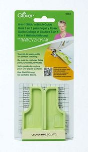 84422: Clover CL9584 6-in-1 Stick 'n Stitch Seam Guide by Nancy Zieman, Watch Video