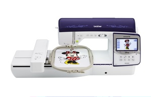 84463: Brother NQ3600D 291 Stitch Sewing 6x10 Inc Hoop 231 Designs Embroidery Machine USB, 16 Fonts, 10 BH's, Jump Stitch Thread Cutting +0% Finance Options