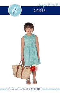 Children's Corner CC293S Ginger Sun Dress Sewing Pattern Sz 6mo-6Yr