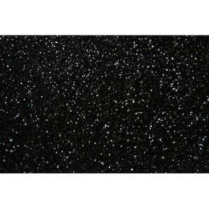 Siser Glitter HTV Heat Transfer Vinyl Sheet- Black 12'' x 20''