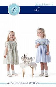 Children's Corner CC010S CC010L Lee Sewing Pattern 6mo-3yrs and 4-8