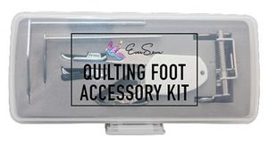 eversewn quilt feet kit, Brewer RJ-207NS-1, 6-pc Accessory Quilting Foot Kit, Low Shank