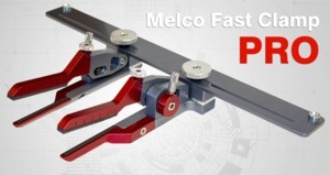 Melco Fast Clamp Pro Hard to Hoop Items, 4 Sets of Arms